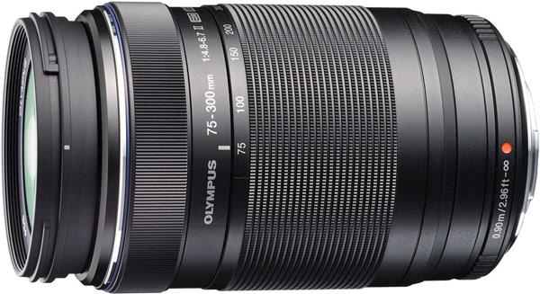 Объектив Olympus M.Zuiko Digital ED 75-300mm f4.8-6.7 II предназначен для камер системы Micro Four Thirds