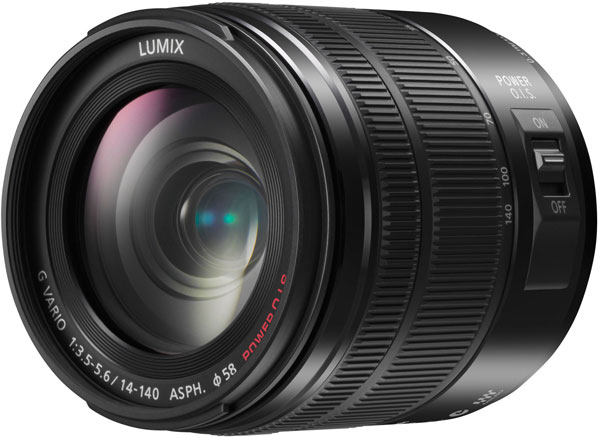 Объектив Panasonic Lumix G Vario 14-140mm F3.5-5.6 APSH. Power OIS соответствует спецификации Micro Four Thirds