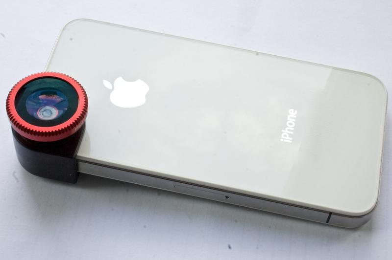 Объектив для iPhone 4/4S, 3 в одном