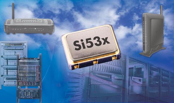 Кварцевые генераторы Silicon Labs Si535 и Si536 предназначены для коммутаторов, маршрутизаторов и другого сетевого оборудования