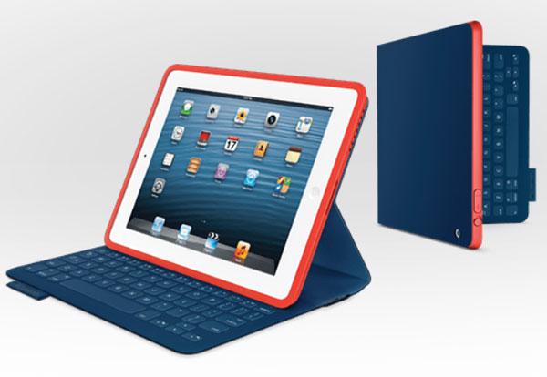 В Европе продажи Logitech FabricSkin Keyboard Folio for iPad начнутся в мае по цене 150 евро