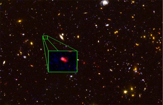 Обнаружена самая далёкая галактика: 30 млрд световых лет от Земли