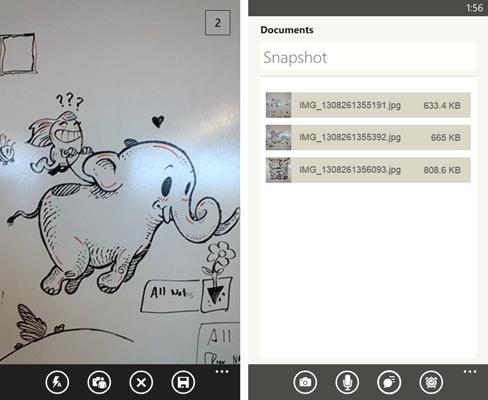 Обновление Evernote для Windows Phone 8: серийная фотосъемка, перевод речи в текст и многое другое