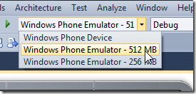 Обновление Windows Phone SDK 7.1.1: 256 Мб устройства и Windows 8