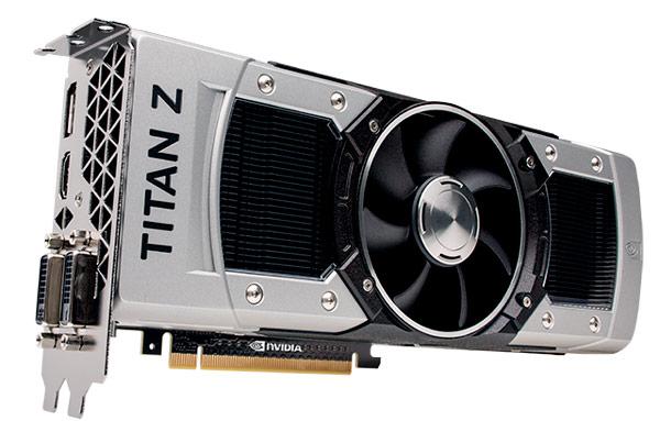 Объявлено о начале продаж 3D-карты Nvidia GeForce GTX Titan Z