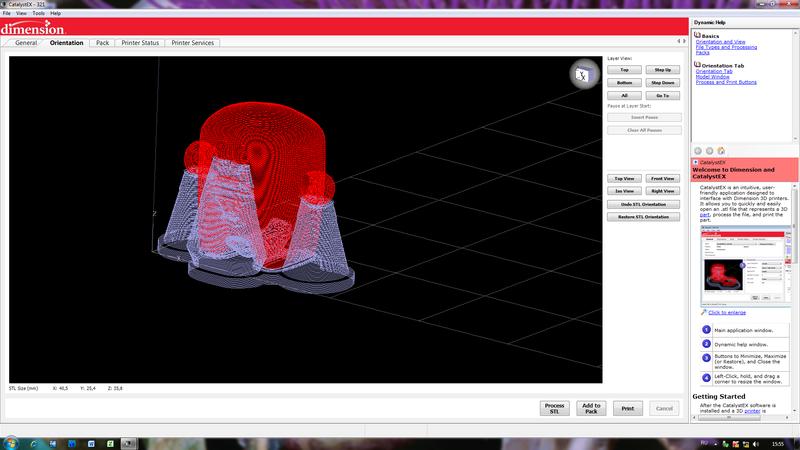 Обзор 3D принтера Dimension Elite