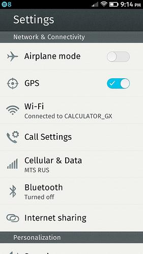 Обзор Geeksphone Peak — телефона на Firefox OS