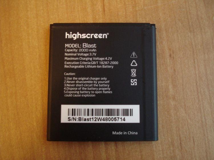Обзор Highscreen Blast