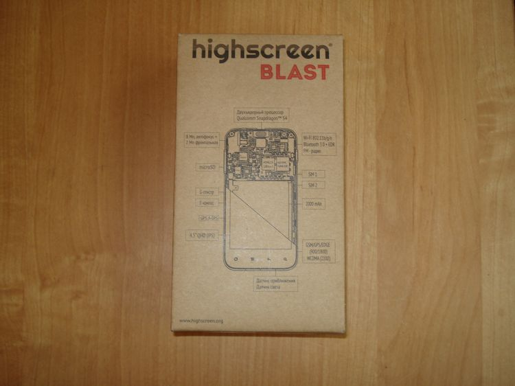 Обзор Highscreen Blast