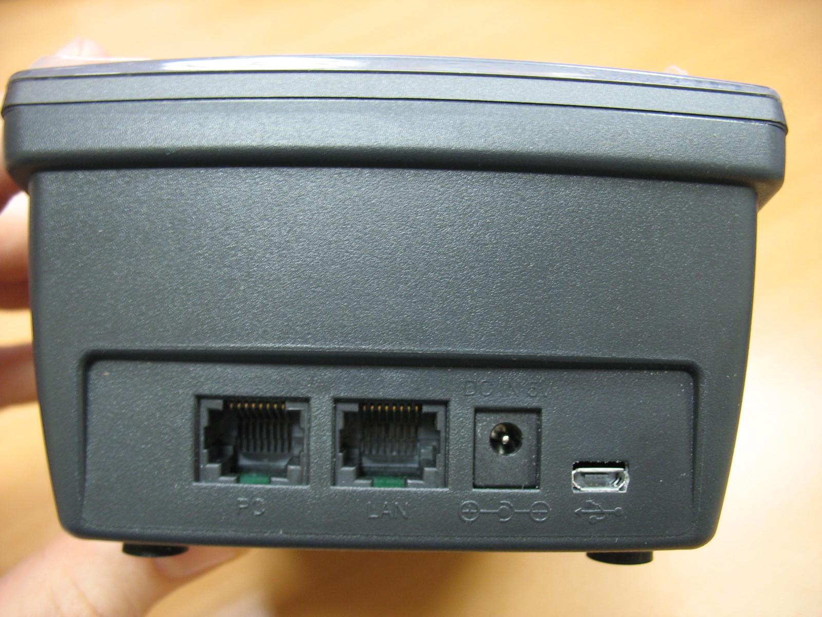 Интерфейсы для электропитания и подключения к сети