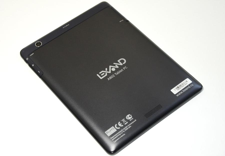 Обзор Lexand A802: 8 дюймовый планшет с нестандартным «железом»
