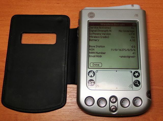 Обзор Palm i705