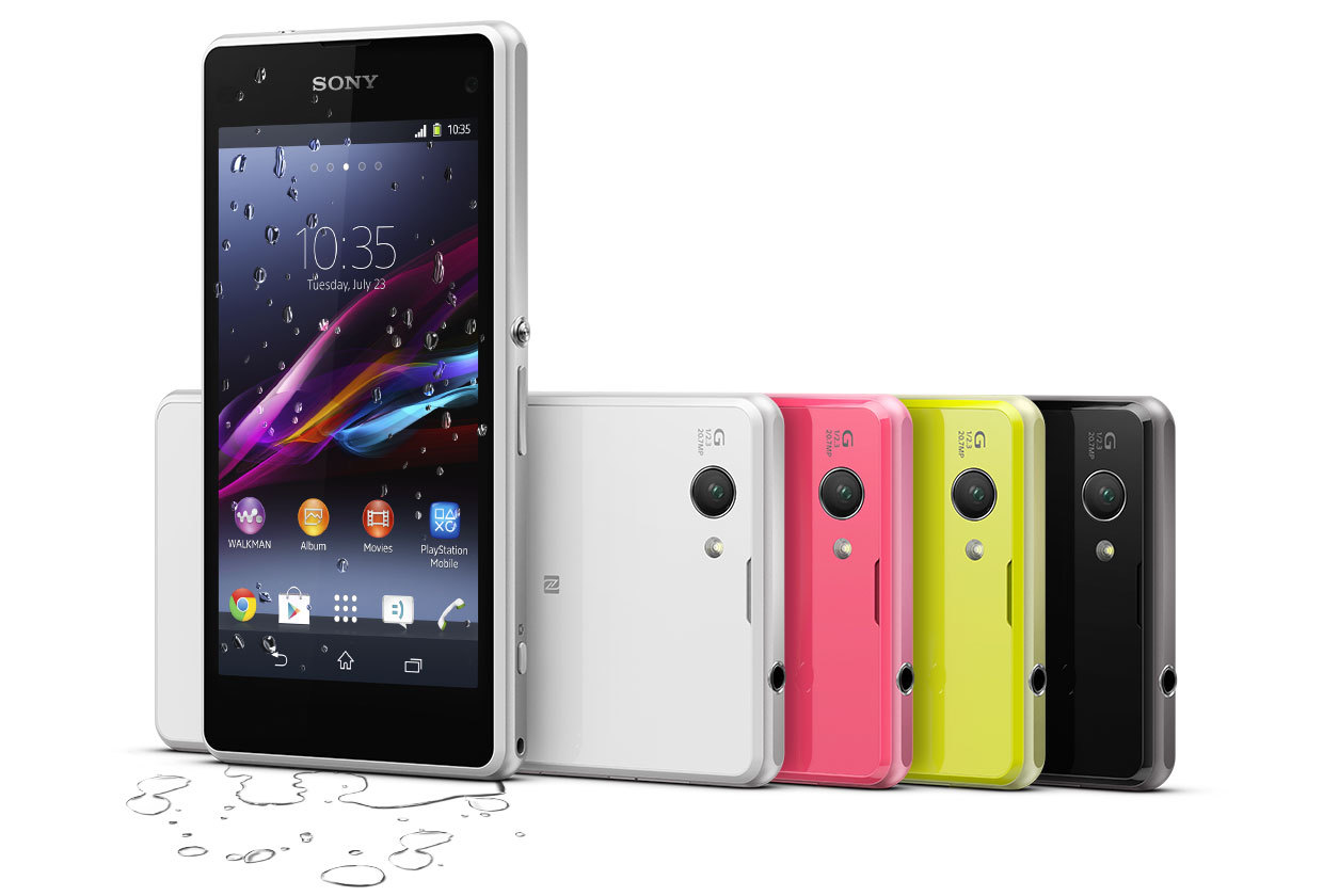 Обзор Xperia Z1 Compact
