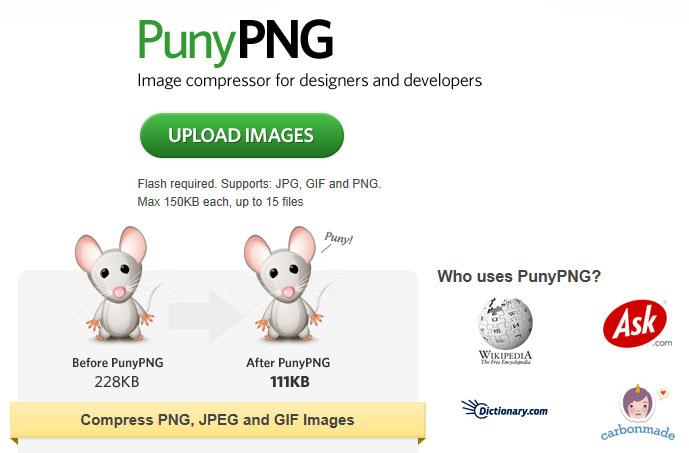 Обзор инструментов для сжатия изображений