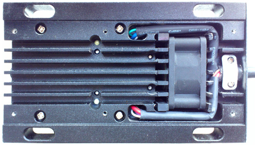 Обзор китайского DPSS лазера 532nm: излучатель