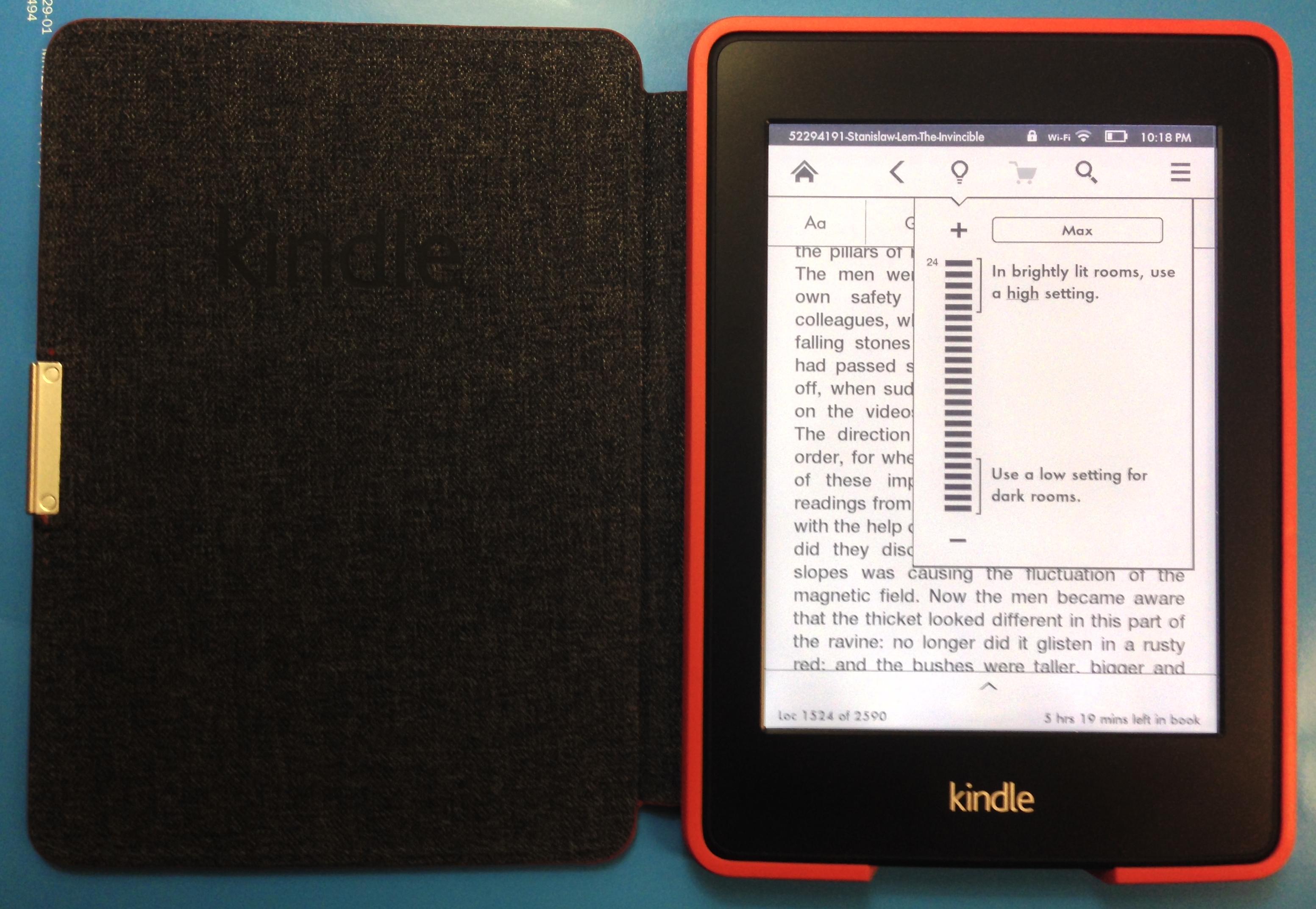 Обзор нового Kindle Paperwhite (2013)