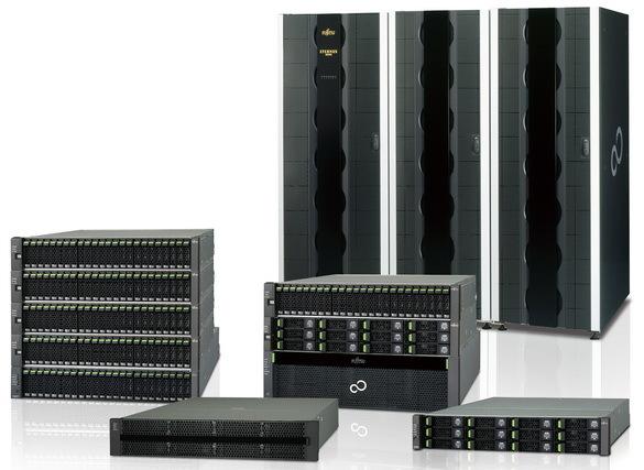 Обзор новых систем хранения Fujitsu Eternus DX