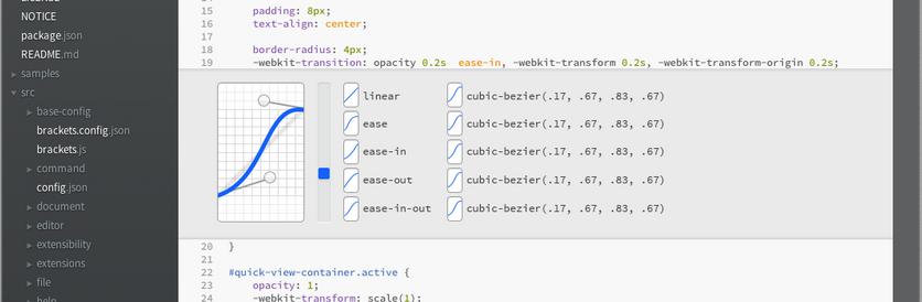 Обзор открытой IDE Adobe Brackets