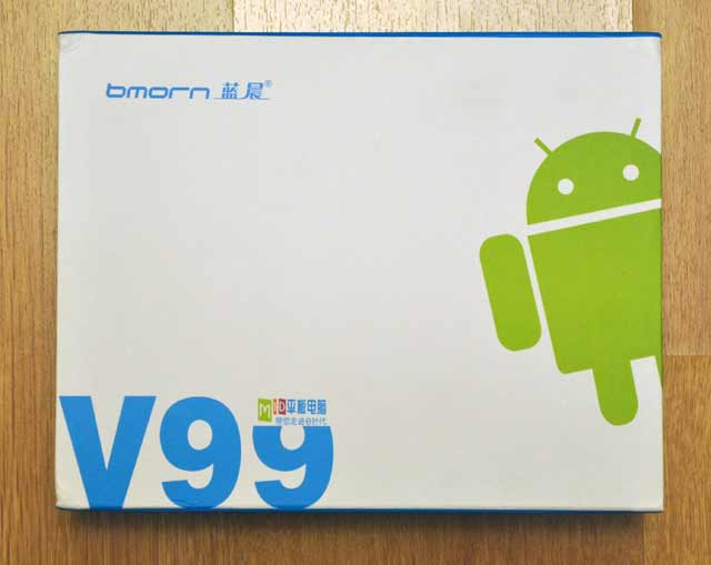 Обзор планшета Bmorn V99