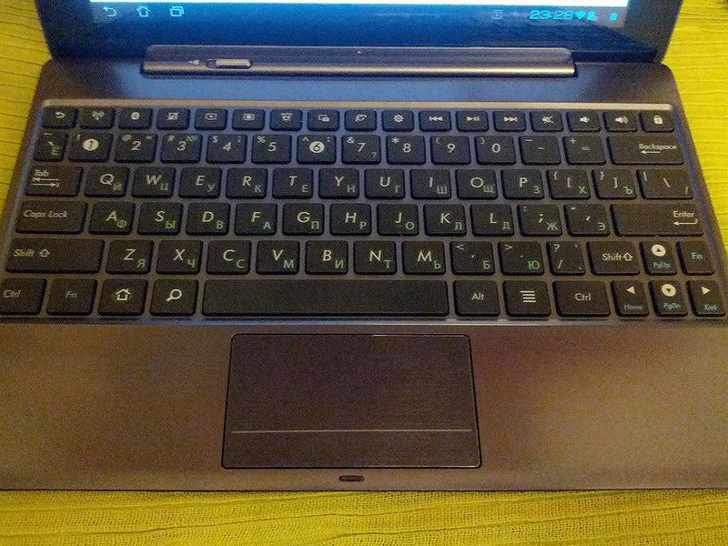 Обзор порка Asus Transformer Infinity TF700T с клавиатурным доком