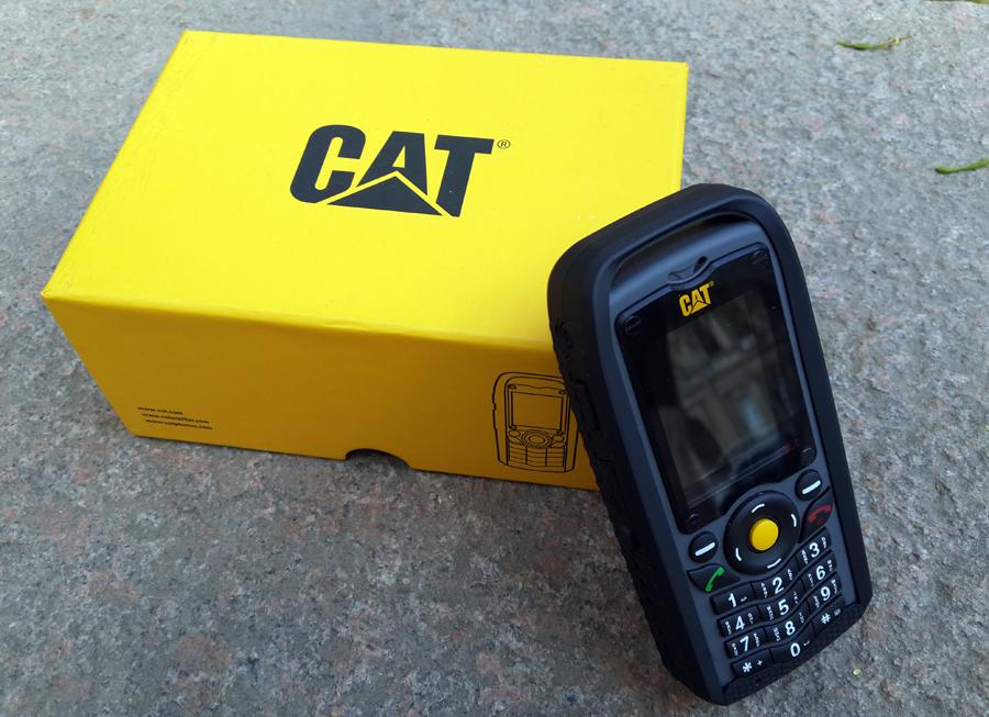 Обзор телефона Caterpillar CAT B25: экскаваторов родственник, тракторов брат