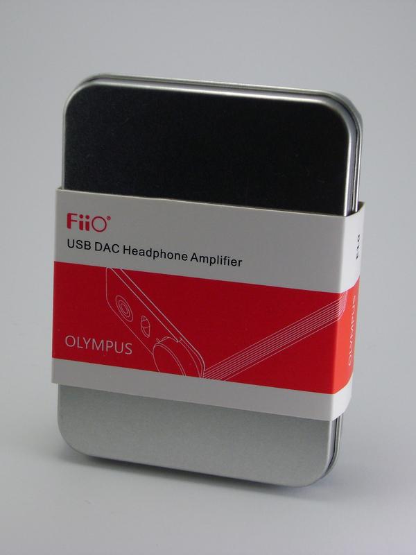 Обзор внешнего усилителя/ЦАПа FiiO E10 OLYMPUS