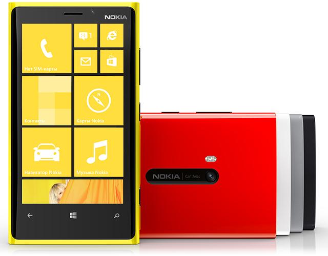 Обзоры Nokia Lumia 920 и Nokia Lumia 820