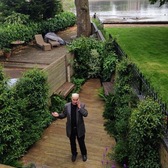 The Hurlingham Club, Лондон. Антон Носик нанимает гендиректора на свой телеканал