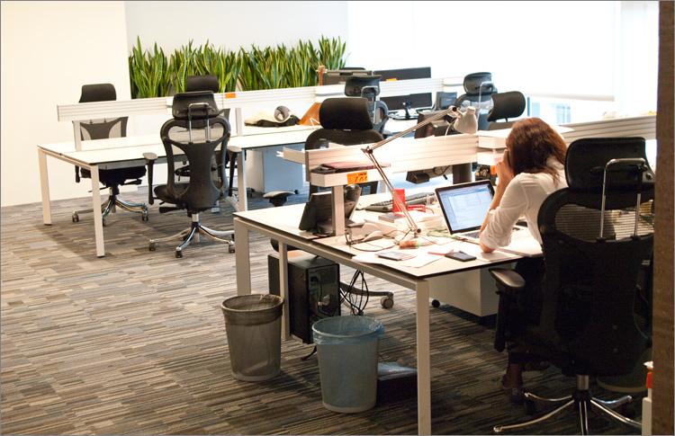 Офис компании Badoo
