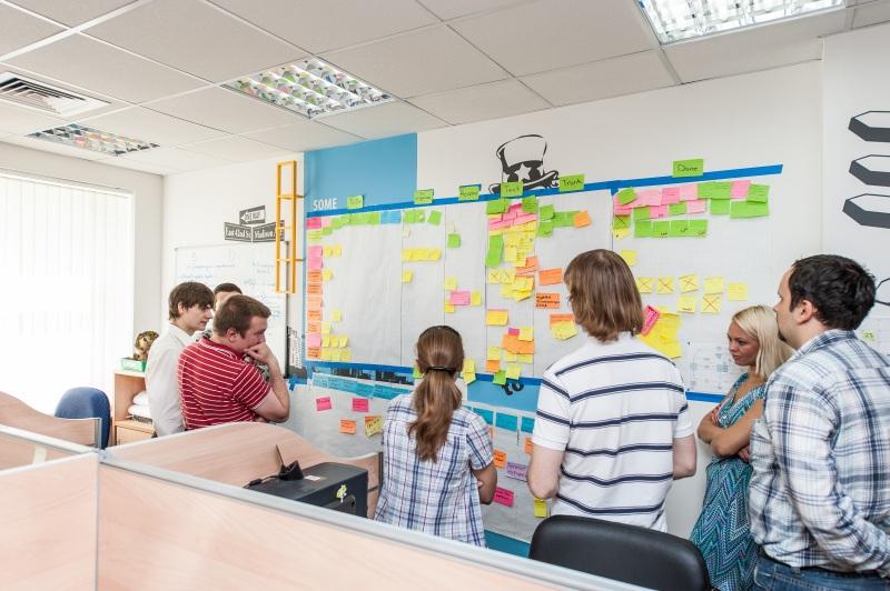 Офис компании Ozon.ru