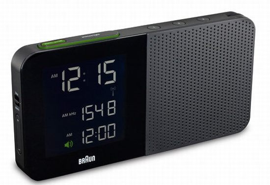 Braun Digital Alarm Clock Radio