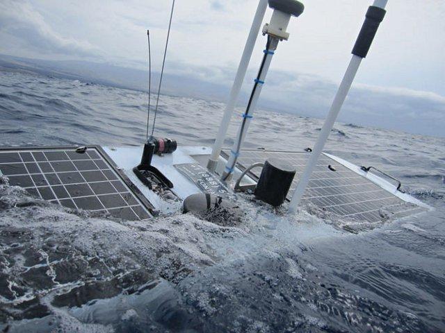 Океанский робот Mercury выдержал натиск урагана Sandy
