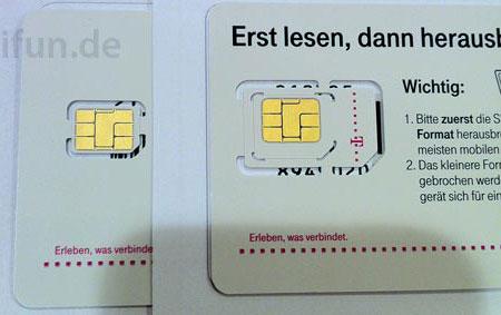Операторы уже начали получать карточки nano-SIM