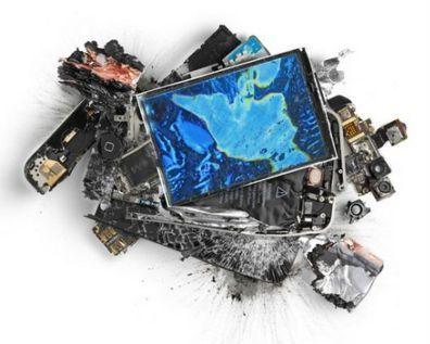 КПВ, в хлам разбитый сматрфон