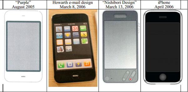 Опровержение: дизайн iPhone не был украден у Sony