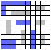 Оптимальный алгоритм игры в морской бой