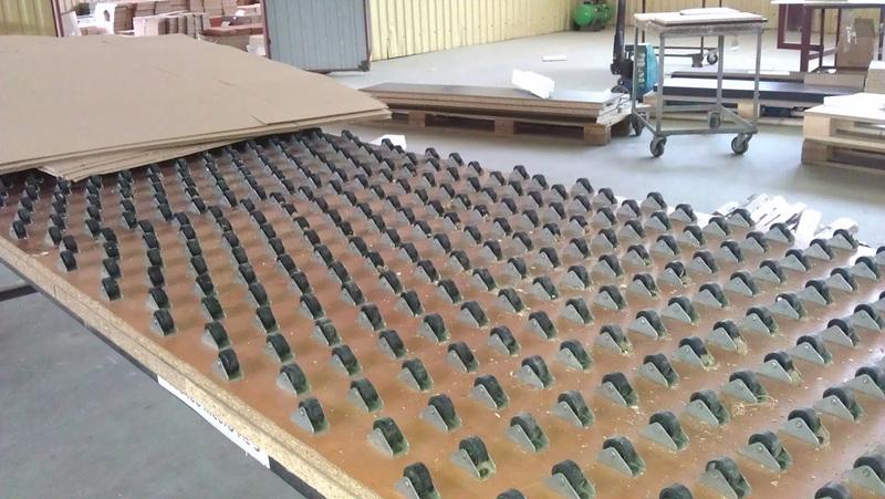Оптимизация рабочих мест полуавтоматической линии упаковки