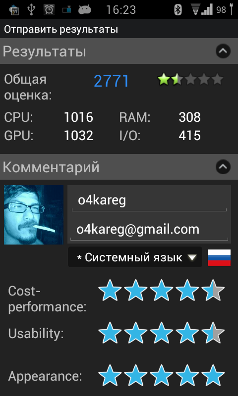 Опыт использования Android 4 на HTC Desire HD