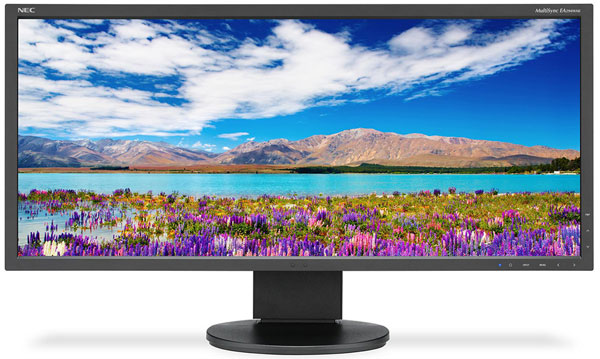 Основой 29-дюймового монитора NEC EA294WMi стала панель типа IPS разрешением 2560 x 1080 пикселей