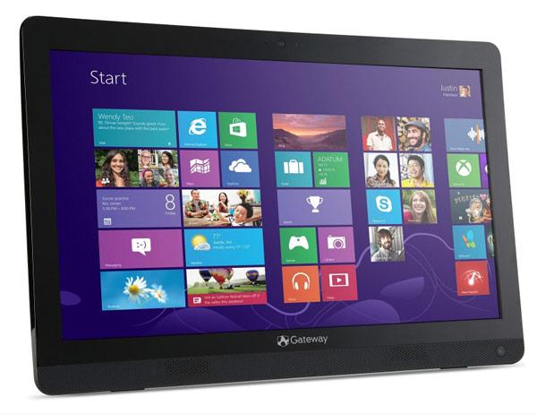 Цена моноблочного ПК Gateway ZX4270 в базовой конфигурации составит $399