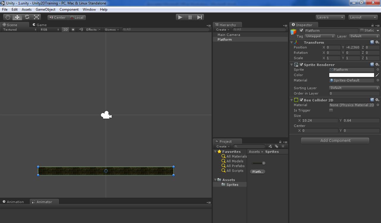 Основы создания 2D персонажа в Unity 3D 4.3. Заготовка персонажа и анимация покоя - Версия для печати - PVSM.RU