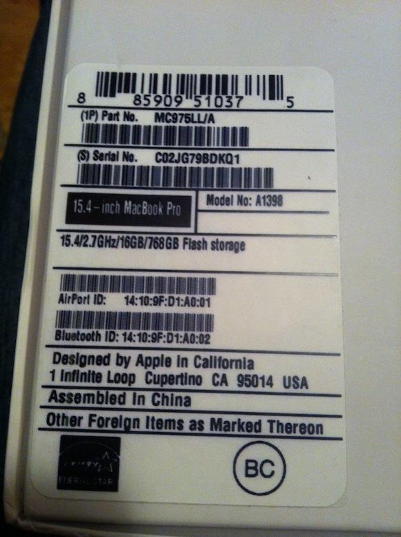 Осторожно при покупке MacBook. Высокотехнологический способ мошенничества в оффлайне