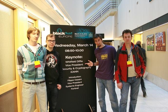 Отчет с конференции BlackHat EU 2012