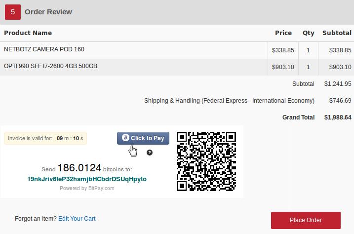 Открылся крупный онлайн магазин электроники, принимающий Bitcoin
