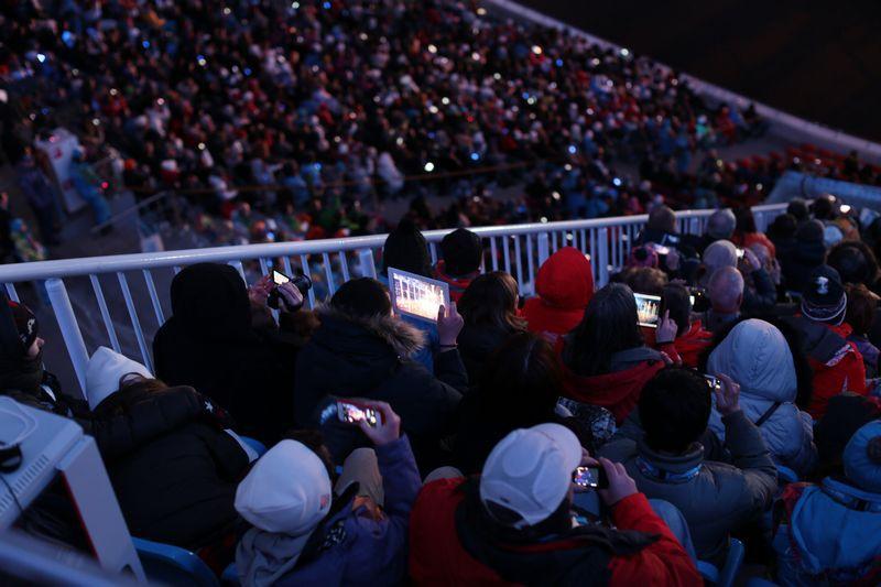 Открытие Олимпиады: стресс тест сети 4G от «МегаФона»