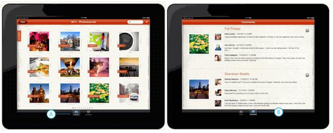 Отличия в дизайне приложений iPad и Metro