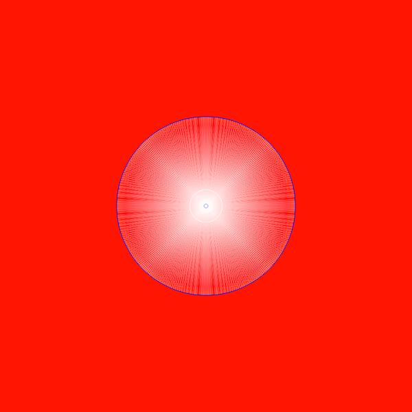 Отображение сил гравитации Солнечной системы