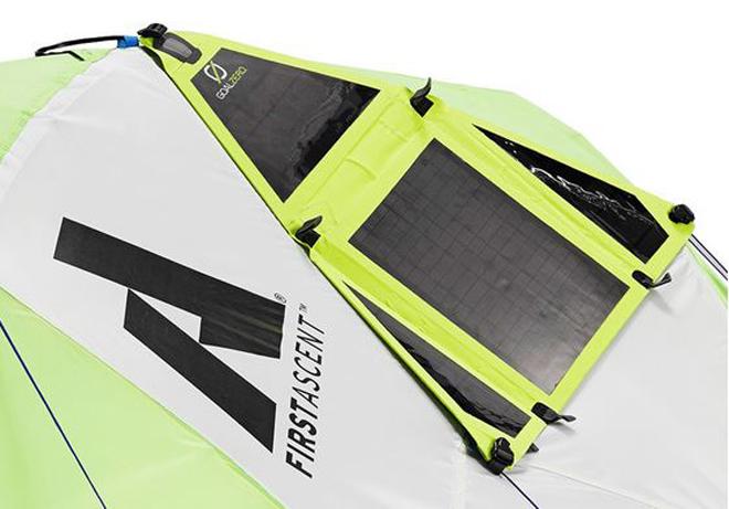 Палатка с солнечными панелями зарядит все гаджеты в походе