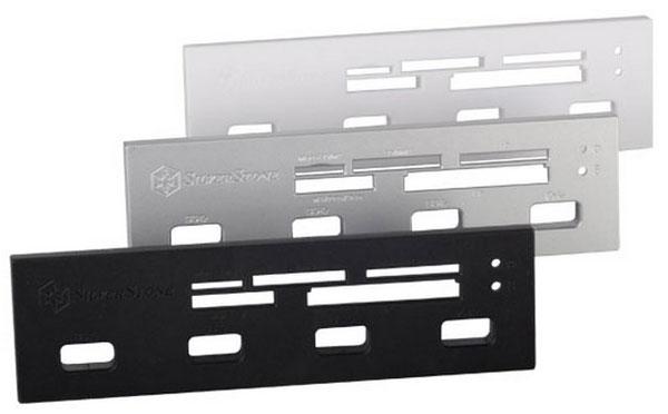SilverStone FP56 комплектуется тремя декоративными накладками
