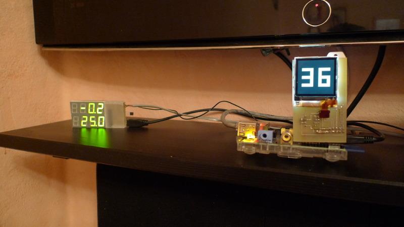 Панель управления умным домом. iPhone в стене